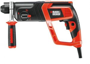 Перфоратор BLACK&DECKER KD985KA /800 W и захват SDS +