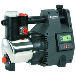 Хидрофорна помпа с електронен пресостат GARDENA PREMIUM 6000/5 INOX LCD /1000W, 4,6 BAR/