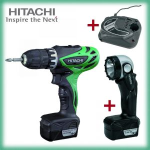 Винтоверт HITACHI DS10DFL /10.8V,1.5Ah/