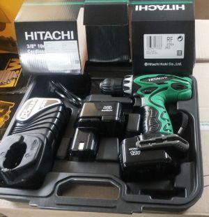 Винтоверт HITACHI DS12DVF3 /12V,1.5Ah/
