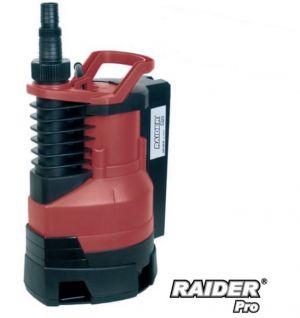 Потопяема водна помпа за мръсна вода RAIDER RD-WP28 400W с воден стълб 5м