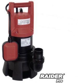 Потопяема водна помпа за мръсна вода RAIDER RD-WP27 1300W  с воден стълб 11м