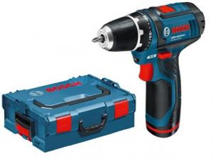 Винтоверт акумулаторен Bosch GSR 10,8-2-LI Professional с 2 батерии 2Ah в L-BOXX