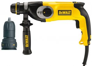 ПЕРФОРАТОР СЪС SDS PLUS DEWALT D25124K /КУФАР/