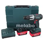 Ударна акумулаторна бормашина/винтоверт с две батерии Metabo SB 18 LT COMPACT 18V,2.0Ah
