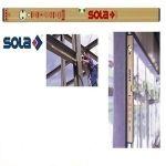 Магнитен алуминиев нивелир Sola AZM  / 300 мм /
