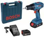 Акумулатотрен винтоверт Bosch GSR 1800 Li 18V,1.5Ah