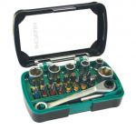 Комплект накрайници с тресчотка Hitachi 24-части