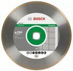 Диск диамантен за рязане на керамика Bosch FPE ECO 250x25.40mm