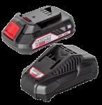 Комплект батерия и зарядно у-во Raider RDP-R20,20V,2.0Ah