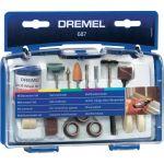 Шлайфгрифер Dremel  687 универсален комплект за полиране 52 части